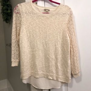 Lucky Brand Lace Top